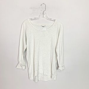 Aritzia TNA |  light weight pullover sweater grey